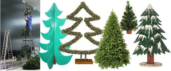 k nstlicher weihnachtsbaum aus spritzgu. Black Bedroom Furniture Sets. Home Design Ideas